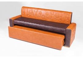 Прямой диван АСТИ 2 со спальным местом