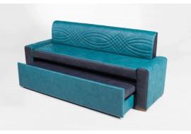 Прямой диван АСТИ 3 со спальным местом