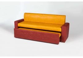 Прямой диван АСТИ 6 со спальным местом