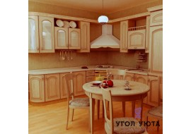 Угловая кухня Кантри 4