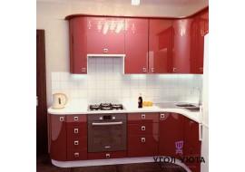 Кухня глянцевая эмаль Премиум 5