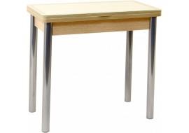 Стол кухонный Мюнхен 45(+45)*80 см со стеклянной столешницей