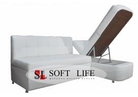 Угловой кухонный диван Комфорт со спальным местом