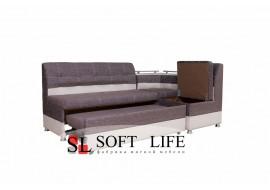 Угловой кухонный диван Маэстро