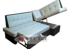 Угловой кухонный диван Сириус