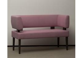 Кухонный прямой диван-скамья Свен с двумя боковыми спинками